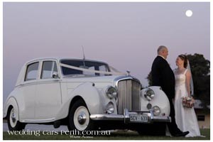 swan valley wedding car