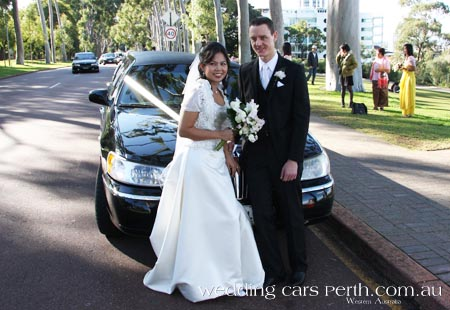 perth wedding transport