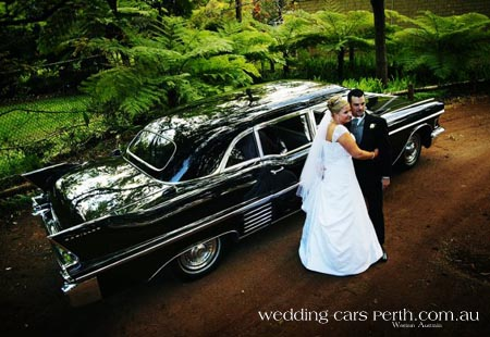 cadillac bridal car perth