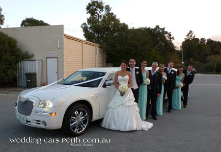 chrysler limo hire perth