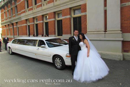 lincoln wedding limousine