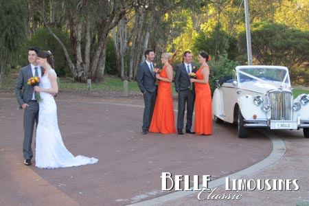 sittella winery wedding car hire