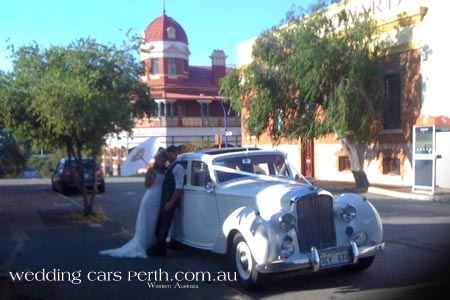 bentley bridal car