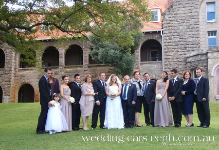 wedding limousines swan valley