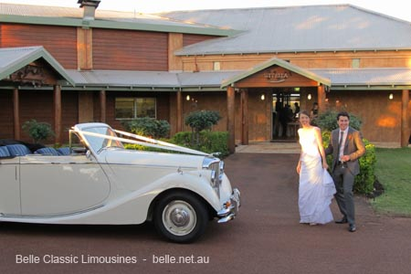 classic wedding cars swan valley