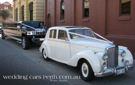 belle wedding limos perth