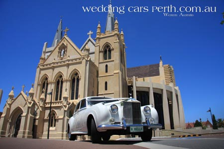 rolls royce st marys wedding -car
