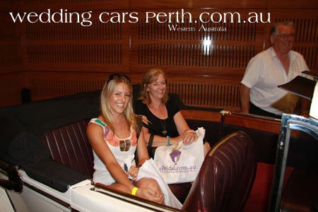 wedding expo limo hire perth