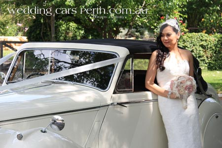 classic swan valley wedding cars
