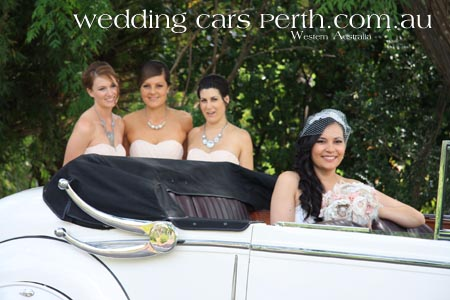 swan valley wedding car photos