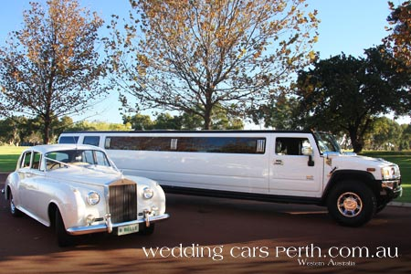 rolls royce and hummer limos