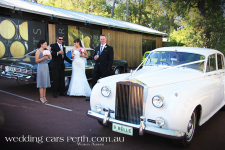 rolls royce wedding limousines perth