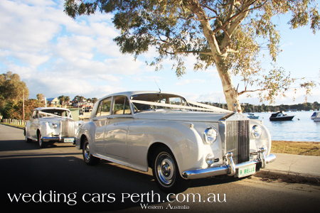 rolls royce wedding limo fremantle