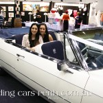 Many brides-to-be sampled the space in the Cadillac