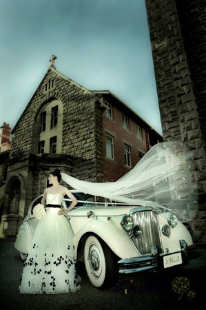 belle classic wedding cars