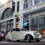 jaguar wedding car king street perth