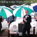 uwa wedding car photos