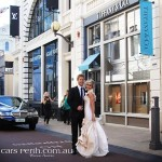 king street perth wedding limo
