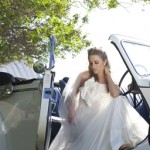 Beautiful classic wedding limos