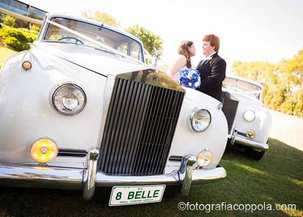 luxury wedding car hire